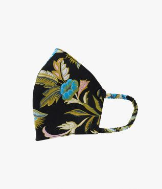 Reusable Face Mask in the Romney floral print from the SS21 collection.