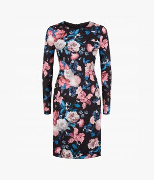 Evita Dress Dusk Bouquet