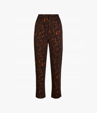 Gianna Trousers Leopard Twill