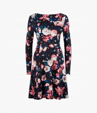 Martine Dress Dusk Bouquet