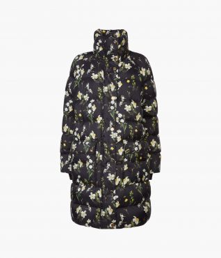 Daura Coat Daffodil Ditsy PS20 by Erdem