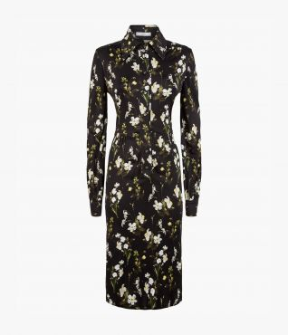 Tullio Dress Daffodil Ditsy Jersey PS20 by Erdem