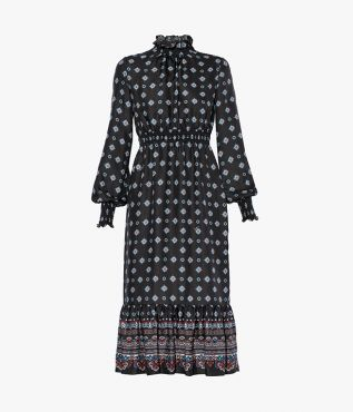 Erdem Aiden Dress Hamilton Twill