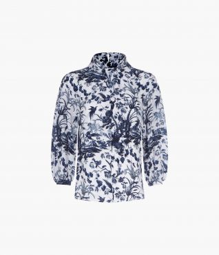 Arlette Top Frida Toile de Jouy by Erdem