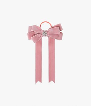 Introduce one of Erdem's signature bow motifs to your accessories repertoire via this hair tie.
