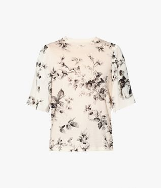 Incorporate Erdem's signature florals into your weekend wardrobe with the Jane T-Shirt.