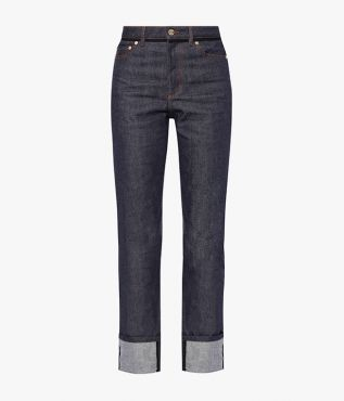 Nathaniel is Erdem's take on a boyfriend-fit jean and this season it comes in a clean indigo denim.
