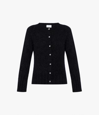 Knitted from a blend of mohair and wool, the Vanessa Cardigan comes from the AW21 collection from designer label Erdem.