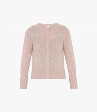 In a ballet-inspired shade of blush pink, the Vanessa Cardigan will inject a little femininity into your knitwear repertoire.