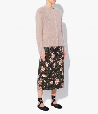 Erdem's Vanessa Cardigan has a classic-fit shaped with a round neck and detailed with a ribbed hem and cuffs.