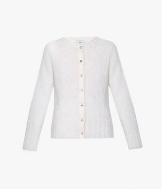 Breathe new life into your knitwear repertoire with the Vanessa Cardigan in fresh white.