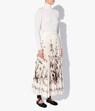 Erdem roll neck Bessy Jumper which has a roll neck and is fitted through the body.
