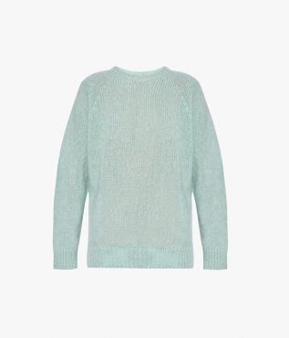 Erdem Bartley Jumper Wool Mohair Knit Mint
