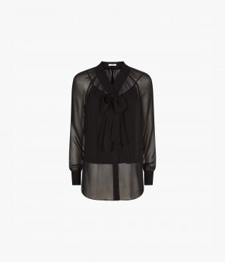 Rosabel Top in black by Erdem