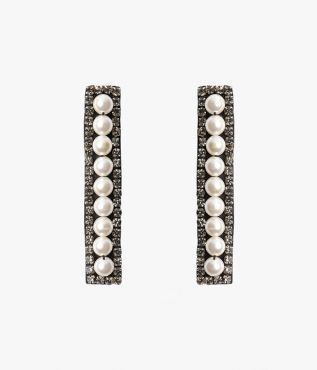 Crystal Layer Earrings Erdem