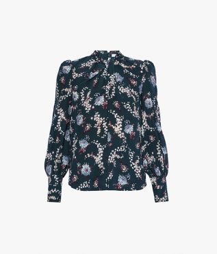 Fayola Top Sowerby Ditsy Crepe