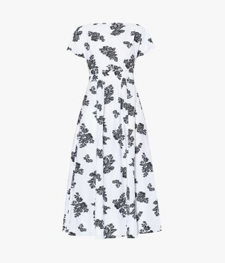 Fraser Dress Cotton Fil Coupe Erdem