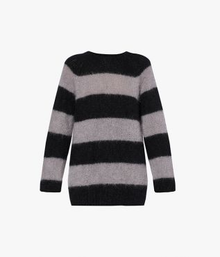 Erdem Heath Jumper Striped Mohair Knit