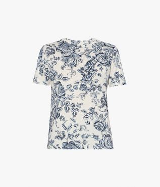 Hettie T-Shirt Toile de Jouy Cotton