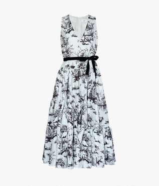 Mimosa Dress Ernest Dream Moire Jacquard