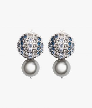 Erdem Crystal Ball Earrings