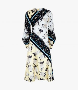 Erdem Annnetta Dress Rosemont Willow