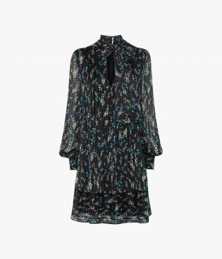 Erdem Remy Dress Willow Ditsy