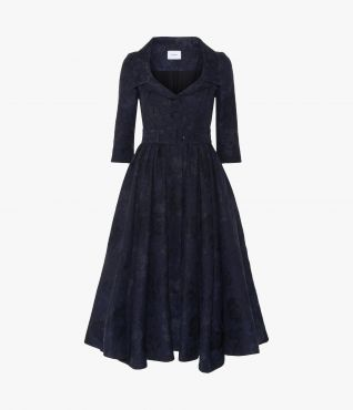 Erdem Merril Dress Cotton Jacquard