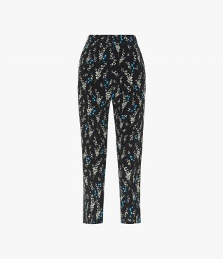 Gianna Trousers Willow Ditsy Erdem