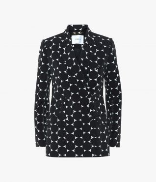 Erdem Fressia Jacket in Linfield Dot