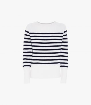 Erdem Lotus Jumper Stripe Knit