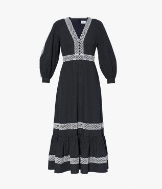 The Magdalene Dress is shaped for a relaxed silhouette that makes it easy to wear for day or night.