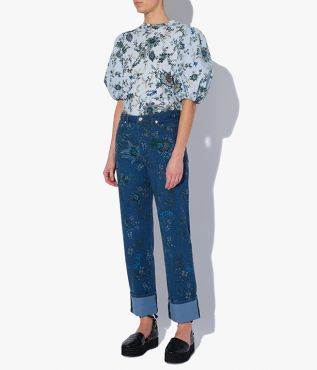 The Pre-Fall '21 collection Nathaniel Jeans have a straight-leg fit.