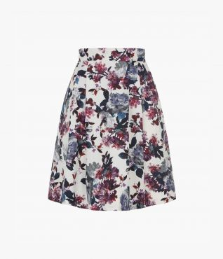Ashanna Skirt Rose Blossom by Erdem