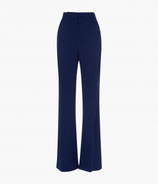 Parris Trousers Navy Cady Tailoring by Erdem