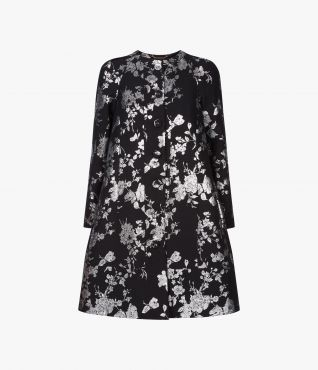 Kerianne Coat Lurex Rose by Erdem