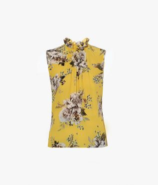Ralph Top Carnation Bouquet Crepe Erdem