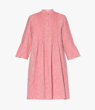 Reagan Dress Paisley Cotton Jacquard