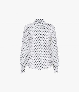 Eula Shirt Kati Star White by Erdem