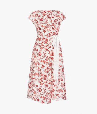 Ruperta Dress Romney Floral Linen Erdem SS21 Collection