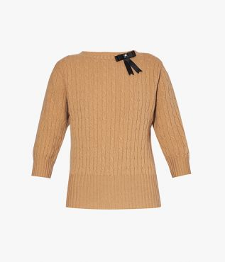 Avice Sweater Wool Knit Camel
