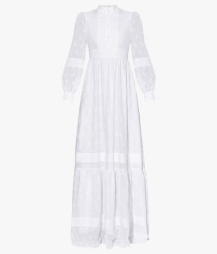 Part of Erdem's White Collection, the Ulrica Dress was designed with the modern bride in mind.