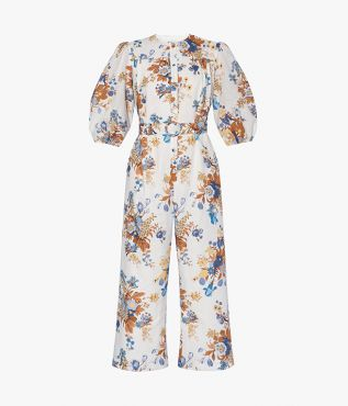 The Capri Jumpsuit puts a feminine spin on classic boilersuit styles for summer.