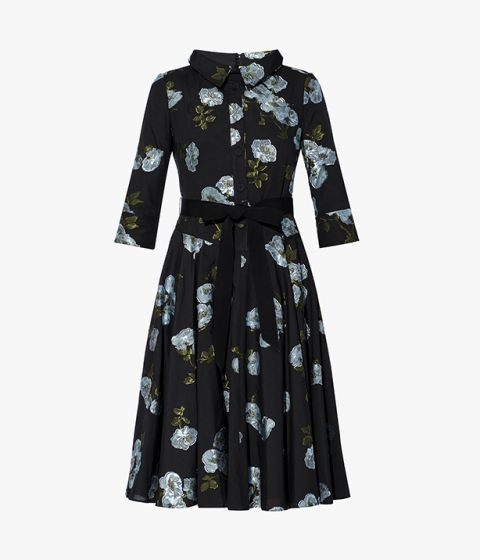 Showcasing Erdem's flair for ladylike silhouettes, the Margot Dress nods to 1950s styling.