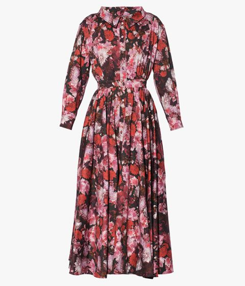 The Giselle Blossom print is inspired by the mood of the iconic ballet Swan Lake and here it adorns the Darcie Dress.