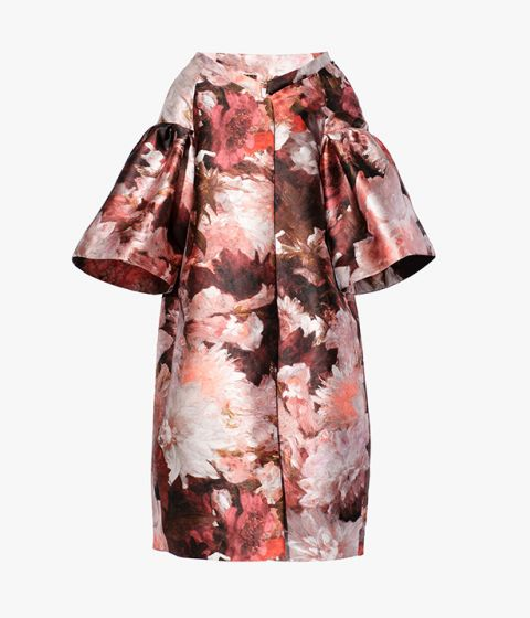 The Caitlyn Coat from Erdem is inspired by traditional opera coats.