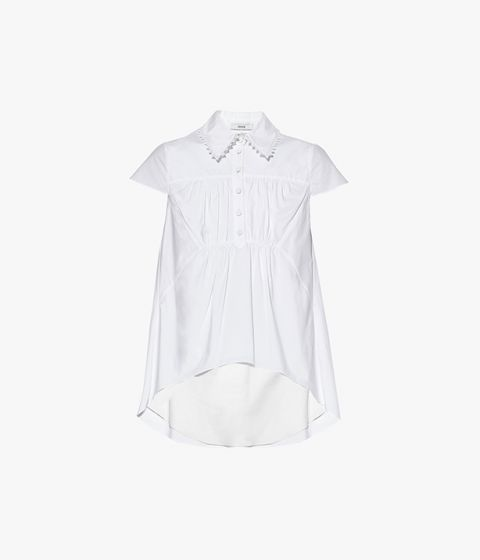 Clovelly Top Cotton Poplin