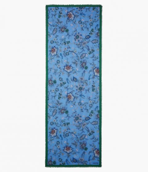 Scarf in a blend of modal and cashmere in this season's Hogarth Vine floral print