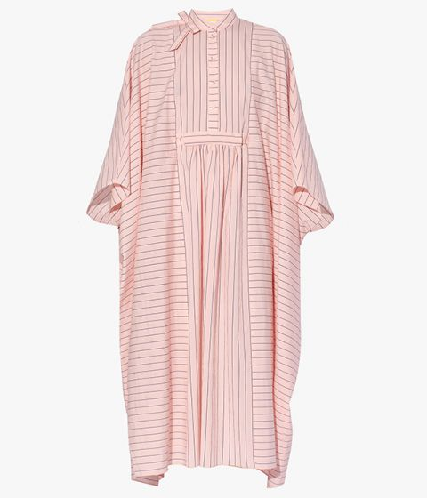 Inspired by traditional kaftans, the Antibes Dress cuts an eye-catching, voluminous silhouette.