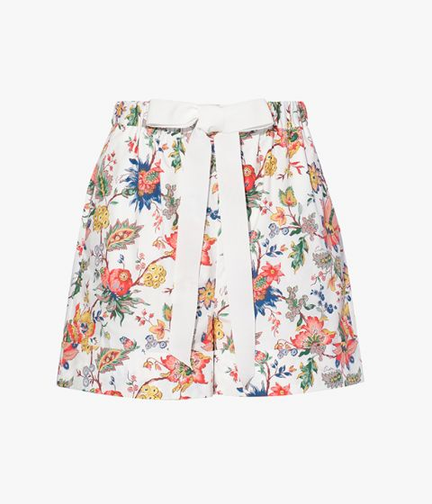 The Maui Shorts are decorated with colourful florals by way of this season's Blossoming Vine print.